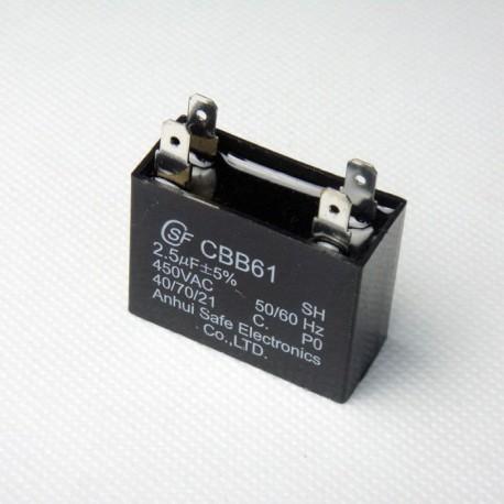 Работни кондензатори CBB61